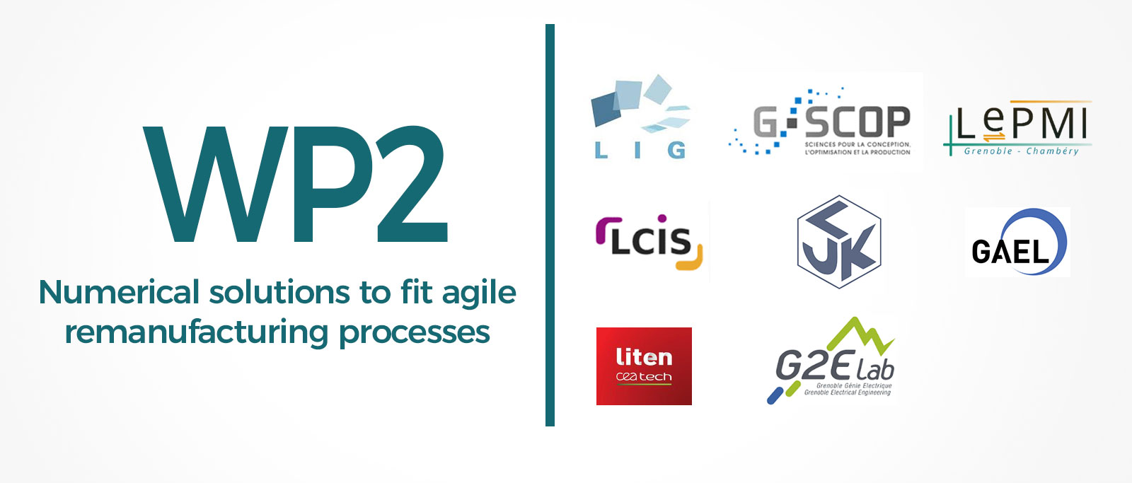WP2: Numerical solutions to fit agile remanufacturing processes